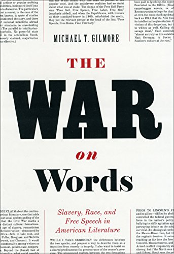 9780226294131: The War on Words: Slavery, Race, and Free Speech in America