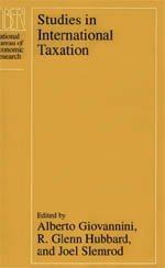 9780226297019: Studies in International Taxation (National Bureau of Economic Research Project Report)