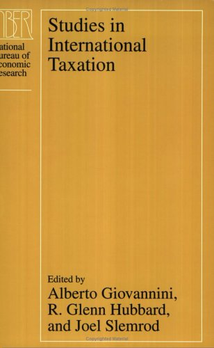 9780226297026: Studies in International Taxation (National Bureau of Economic Research Project Report)