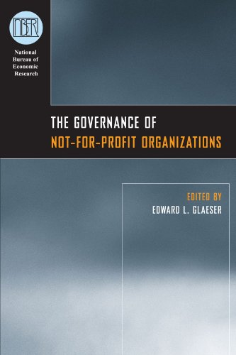 9780226297880: The Governance of Not-for-Profit Organizations (National Bureau of Economic Research Conference Report)
