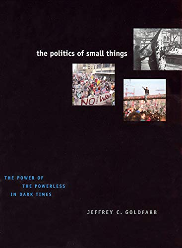 9780226301082: The Politics of Small Things: The Power of the Powerless in Dark Times