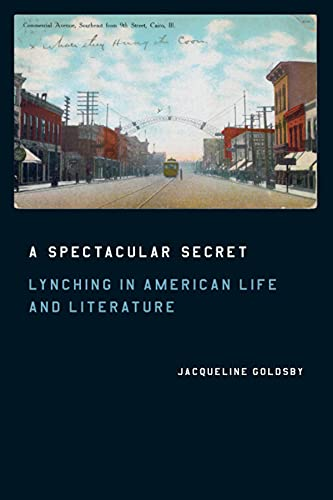 9780226301372: A Spectacular Secret: Lynching in American Life and Literature