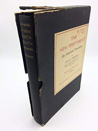 9780226303789: New Testament: American Translation