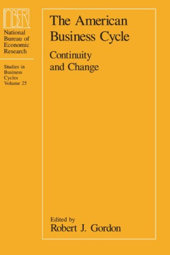 9780226304533: The American Business Cycle: Continuity and Change (National Bureau of Economic Research Conference Report)
