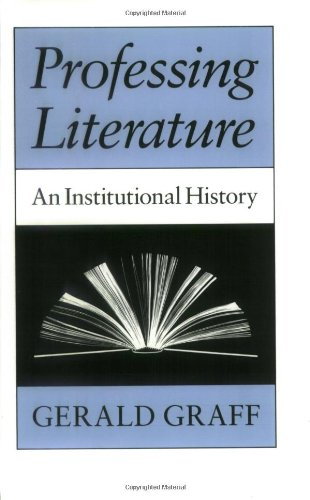 9780226306049: Professing Literature: An Institutional History