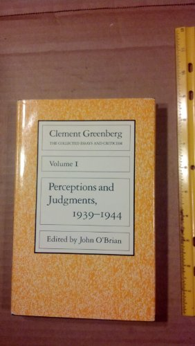 clement greenberg the collected essays