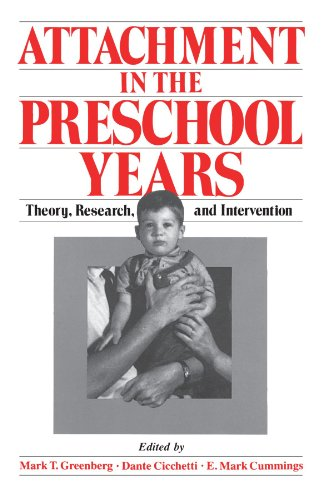 Attachment in the Preschool Years: Theory, Research, and Intervention.: Cummings, E. Mark.