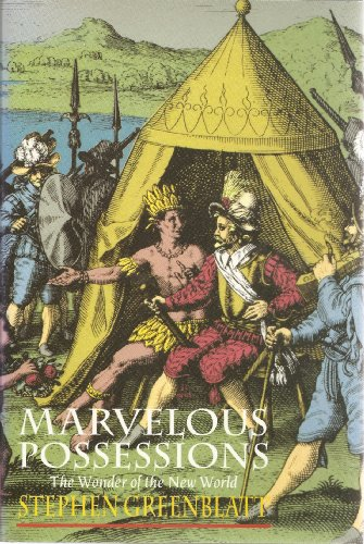 9780226306513: Marvelous Possessions: The Wonder of the New World