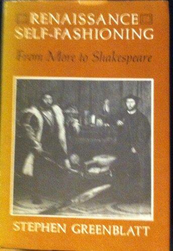 9780226306537: Renaissance Self-fashioning: More to Shakespeare