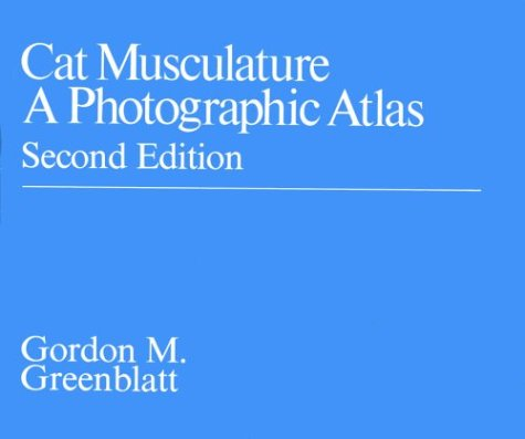 9780226306568: Cat Musculature: A Photographic Atlas