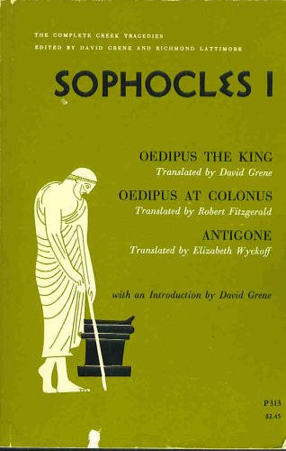 9780226307855: The Complete Greek Tragedies: Sophocles I (Vol 8)