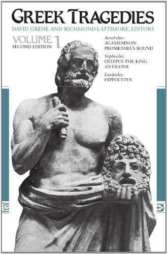 9780226307909: Greek Tragedies V 1 - Aeschylus, Agamemmon & Prometheus Bound, Sopocles - Oepedius the King & Antigone Euripides - Hippolytus 2e