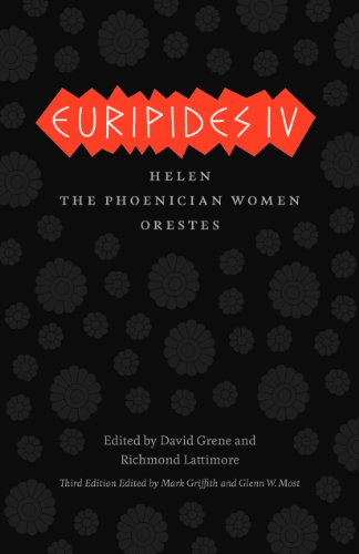9780226308968: Euripides IV: Helen, The Phoenician Women, Orestes (The Complete Greek Tragedies)