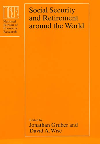 9780226310114: Social Security and Retirement around the World (National Bureau of Economic Research Conference Report)