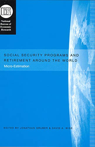 Social Security Programs and Retirement around the: Jonathan Gruber, David