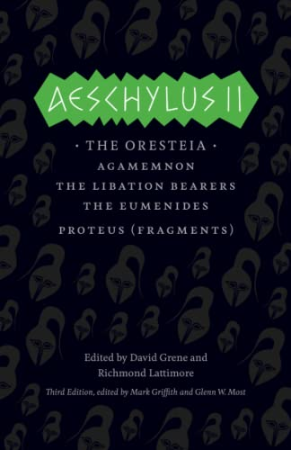 9780226311470: Aeschylus II (Complete Greek Tragedies)
