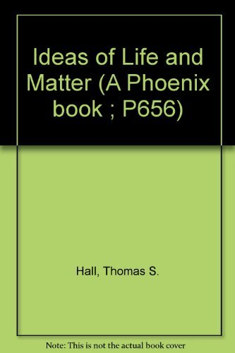 9780226313603: Ideas of Life and Matter (A Phoenix book ; P656)