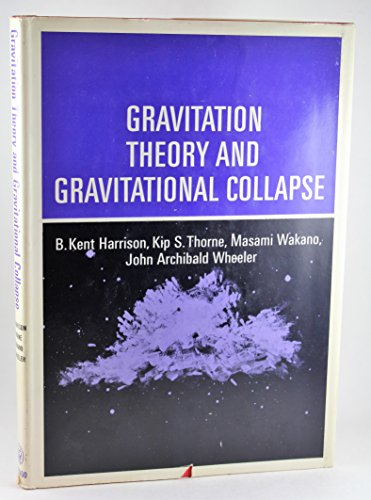 9780226318028: Gravitation Theory and Gravitational Collapse