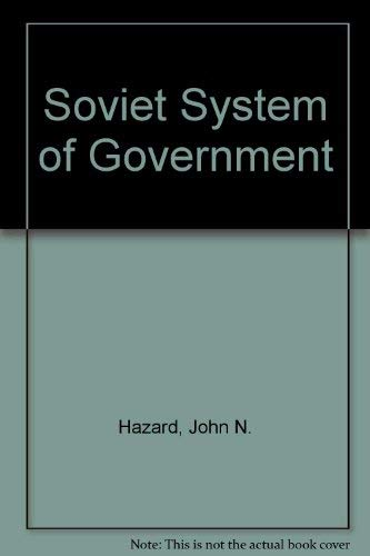 9780226321912: Soviet System of Government