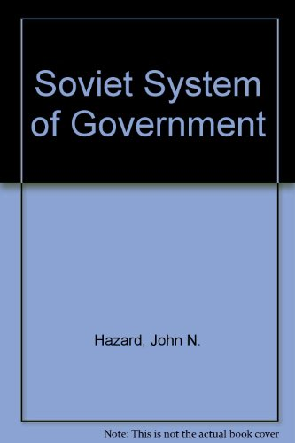 9780226321929: The Soviet System of Government