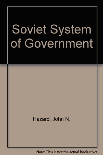 9780226321936: Soviet System of Government