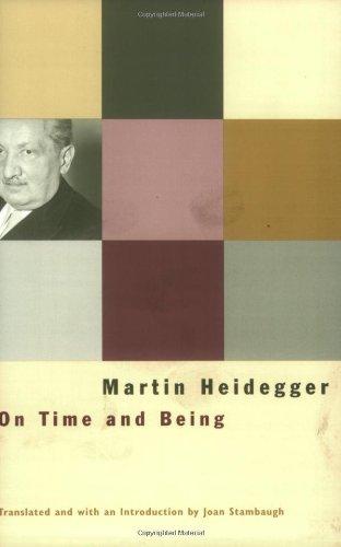 On Time and Being: Heidegger, Martin