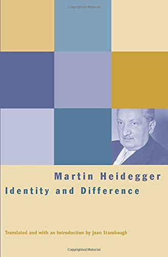 Identity and Difference (0226323781) by Martin Heidegger
