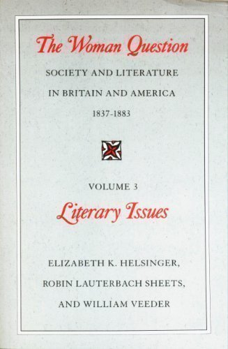 9780226326672: 002: The Woman Question: Society and Literature in Britain and America, 1837-1883, Volume 2: Social Issues