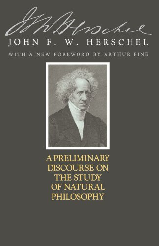 A Preliminary Discourse on the Study of: HERSCHEL, John F.
