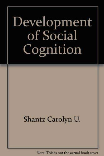 9780226331607: The Development of Social Cognition