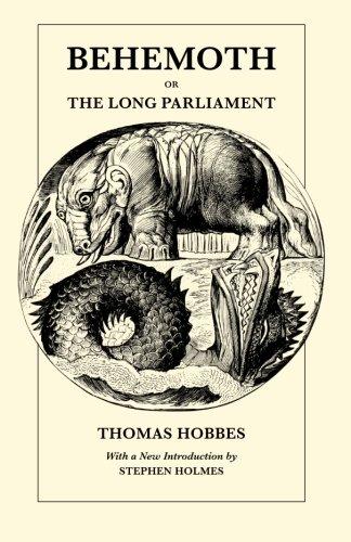 9780226345444: Behemoth or The Long Parliament