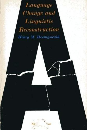 9780226347417: Language Change and Linguistic Reconstruction (Phoenix Books)