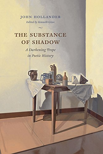 The Substance of Shadow: John Hollander (author),