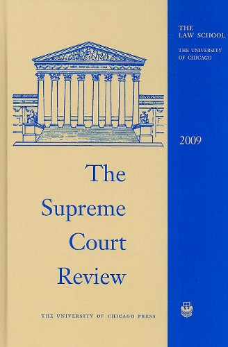9780226362557: The Supreme Court Review, 2009