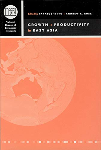 9780226386805: Growth and Productivity in East Asia (National Bureau of Economic Research East Asia Seminar on Economics)