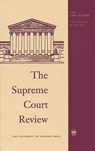 The Supreme Court Review, 2015 (Hardcover): Dennis Hutchinson