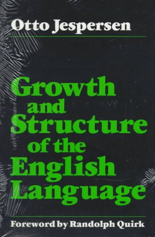 9780226398778: Growth and Structure of the English Language