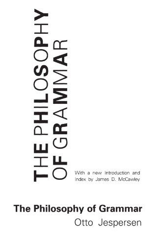 9780226398815: The Philosophy of Grammar