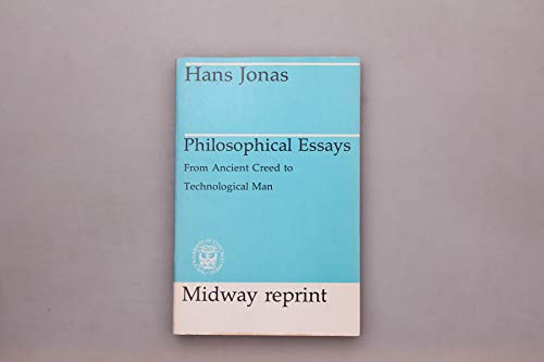 9780226405919: Philosophical Essays: From Ancient Creed to Technological Man