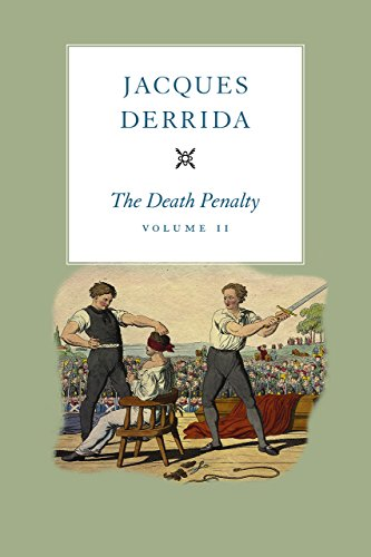9780226410821: 2: The Death Penalty, Volume II (The Seminars of Jacques Derrida)