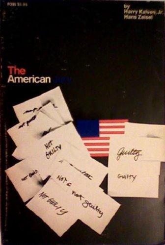 The American Jury: Harry Kalven Jr.,