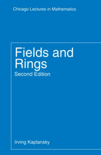 9780226424514: Fields and Rings