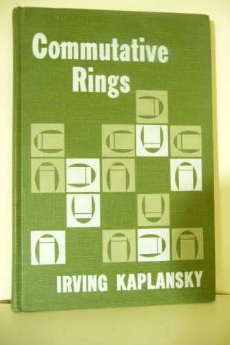 9780226424545: Commutative Rings (Lectures in Mathematics)