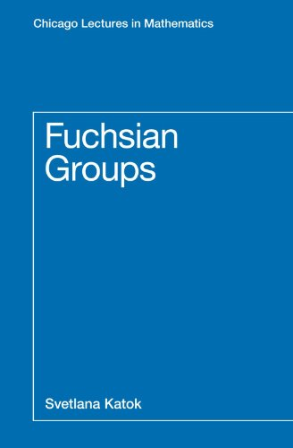 9780226425832: Fuchsian Groups (Chicago Lectures in Mathematics)