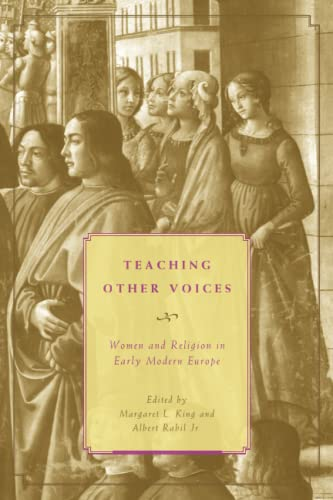 9780226436326: Teaching Other Voices: Women and Religion in Early Modern Europe (Other Voice in Early Modern Europe)