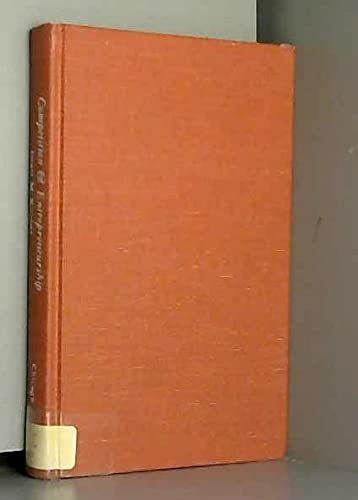 9780226437750: Competition and Entrepreneurship