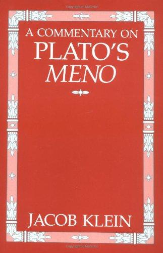9780226439594: A Commentary on Plato's Meno