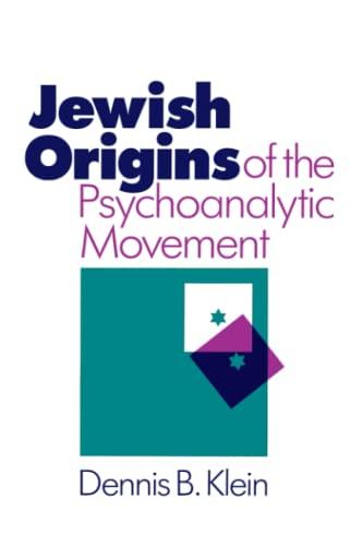 9780226439600: Jewish Origins of the Psychoanalytic Movement