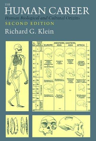9780226439631: The Human Career: Human Biological and Cultural Origins