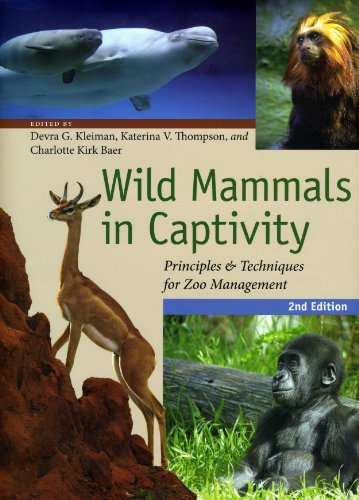 9780226440095: Wild Mammals in Captivity: Principles and Techniques for Zoo Management